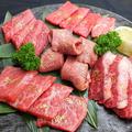 料理メニュー写真肉盛り合わせ5種盛り