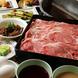 牛禅の定番、すきしゃぶ◎一番人気のお鍋!