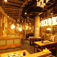 宮崎県日南市の農場の雰囲気を再現♪活気のある居酒屋!