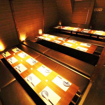 和食個室居酒屋 膳ガーデン 渋谷店の雰囲気1