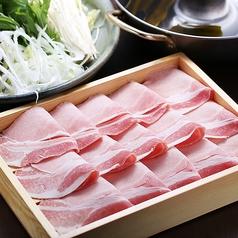 料理メニュー写真北海道産 豚のしゃぶしゃぶ/2人前~承ります