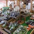 農家直売所、はぎせん市場☆近隣の農家、美味しい野菜があれば遠方の農家まで直に買い付けしています。