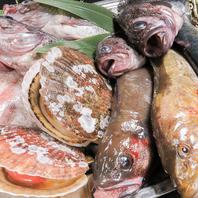 宮古から直送される旬の魚介類がおすすめ!