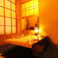 ◆趣ある和風個室空間でいただく【旬コース】