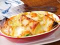 料理メニュー写真フランスパンとアボガドのチーズ焼