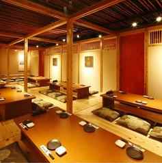 会社宴会にオススメの団体個室。最大50名様までご利用頂けます。
