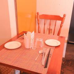 2人で落ち着いた空間でお食事をお楽しみください♪