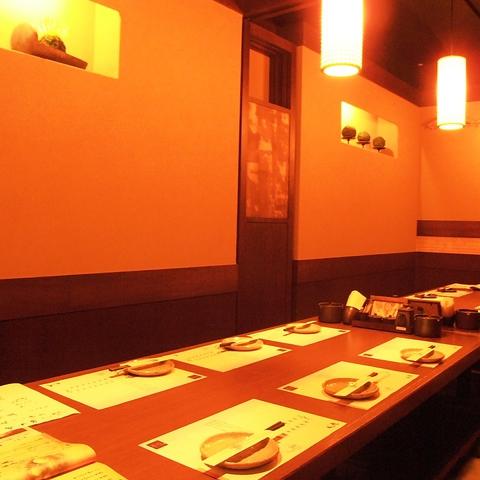 プライベート感たっぷりな個室完備◆湯葉豆腐料理が楽しめるお店(写真は系列店)