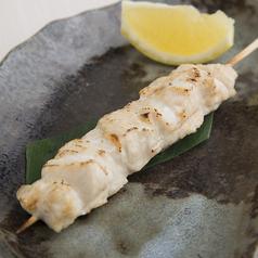 料理メニュー写真国産鶏むね串 (たれ・塩)