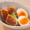 料理メニュー写真【売切れ御免】◆煮玉子豚角煮