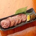 本場仙台☆牛タン炭火焼熟成させた牛タンを厚切りでカット。炭火で焼きあげた牛タンは食感・味ともに秀逸!  噛めば噛むほど美味しさがわかります