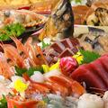 料理メニュー写真漁港直送 海鮮お刺身盛り合わせ(3点盛り)