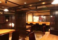 様々な人数に幅広く対応できる個室が多数ございます。