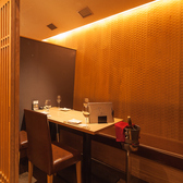 間接照明が彩るラグジュアリーな和空間で上質和食を。