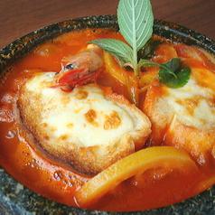 シェーナ名物石焼グラタンスープ風スパゲッティ