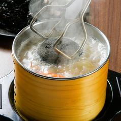 料理メニュー写真男鹿の石焼き鍋(一人前)