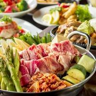 ★選べる食べ放題★人気のチーズタッカルビに肉、鍋!