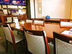 団体様におすすめのテーブル席