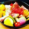 料理メニュー写真有機野菜とベーコンのベジージョ