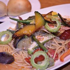 菜園トマトスパゲティ