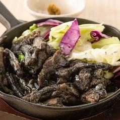 料理メニュー写真国産親鳥の黒焼き