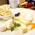 料理メニュー写真美味しいチーズ盛り合わせ