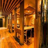 和風な店内は女子会や合コンといった様々なご宴会に最適な空間造りとなっております。