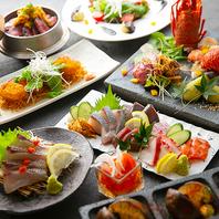 【季節の料理】瀬戸内鮮魚から始まり創作釜飯で〆る