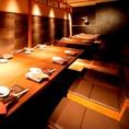 10名個室2部屋/最大24名様の掘り炬燵個室