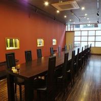 テーブル個室が新登場。20名様までOK&バリアフリー仕様