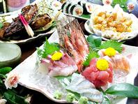 一品料理からコースまで美味しい魚介がリーズナブル♪