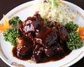 料理メニュー写真スペアリブの黒胡椒炒め