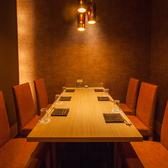 会社の商談、会食などに最適なお部屋です。