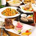 大人気パーティーコースはクラフト生ビール飲み放題付でご提供♪シェフ手作りのパーティーメニューをご堪能ください!