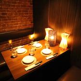【少人数個室】お仕事帰りのちょっとした飲み会や女子会・デートにも◎落ち着いた雰囲気でゆったりとお過ごし頂けます。