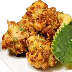 料理メニュー写真納豆の天ぷら