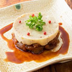 じっくり煮込んだ牛スジのパルマンティエ トリュフ風味