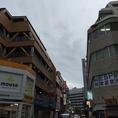 【ポンドまでの道のり♪】博多駅筑紫口「ヨドバシ」側からまっすぐ直進道なりに…