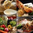 当店自慢の食べ放題コースはランチ2000円~、ディナーは飲み放題付2980円~ご用意しております☆