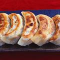 料理メニュー写真手作り焼き餃子4個