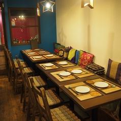 【テーブル12名様】可愛いアジアのインテリアに囲まれて…