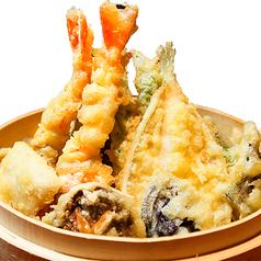 料理メニュー写真海老とその日の天ぷら盛り
