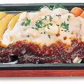 料理メニュー写真ペシャメルハンバーグ