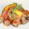 料理メニュー写真スペイン産栗豚のゆうあん焼き