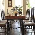 2F テーブル席 6名席×3卓