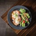 料理メニュー写真スモークサーモン&クリームチーズのフレンチトースト
