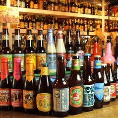 約80種類ものビールがパーティシーンを盛り上げます!アメリカンスタイルの店内でワンランク上のご宴会を♪