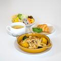 料理メニュー写真スイートコーンとミートソースのラザニア~エミリア風~