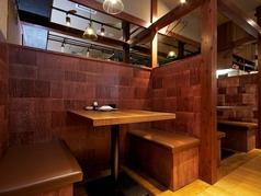 少人数でも大人数でも使えるテーブル席多数ご用意!ご利用シーンに合わせてお席をご用意致します♪