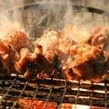 料理メニュー写真阿波尾鶏バラ焼き 2名様なら(中)